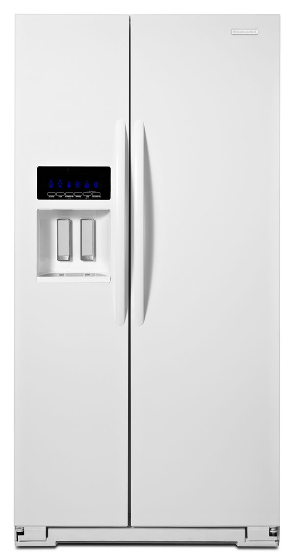 KitchenAid® 25.6 Cu. Ft. Standard-Depth Side-by-Side Refrigerator, Architect® Series II