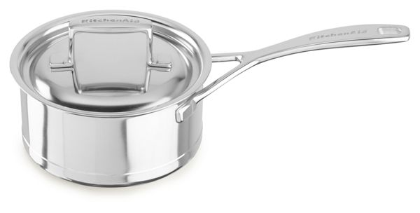 KitchenAid® Professional Seven-Ply 1.5-Quart Saucepan with Lid
