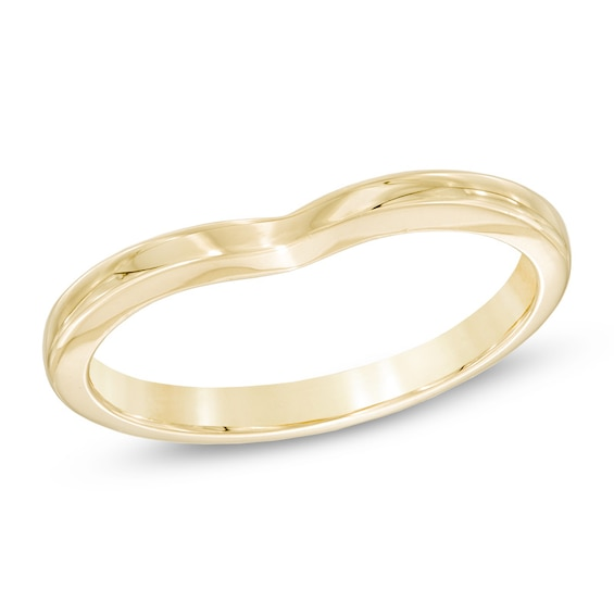 Ladies' 2.0mm Contour Wedding Band in 14K Gold