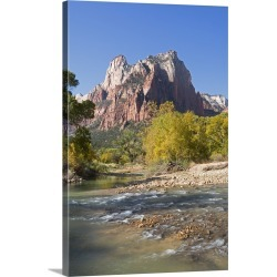 Large Solid-Faced Canvas Print Wall Art Print 20 x 30 entitled Virgin River