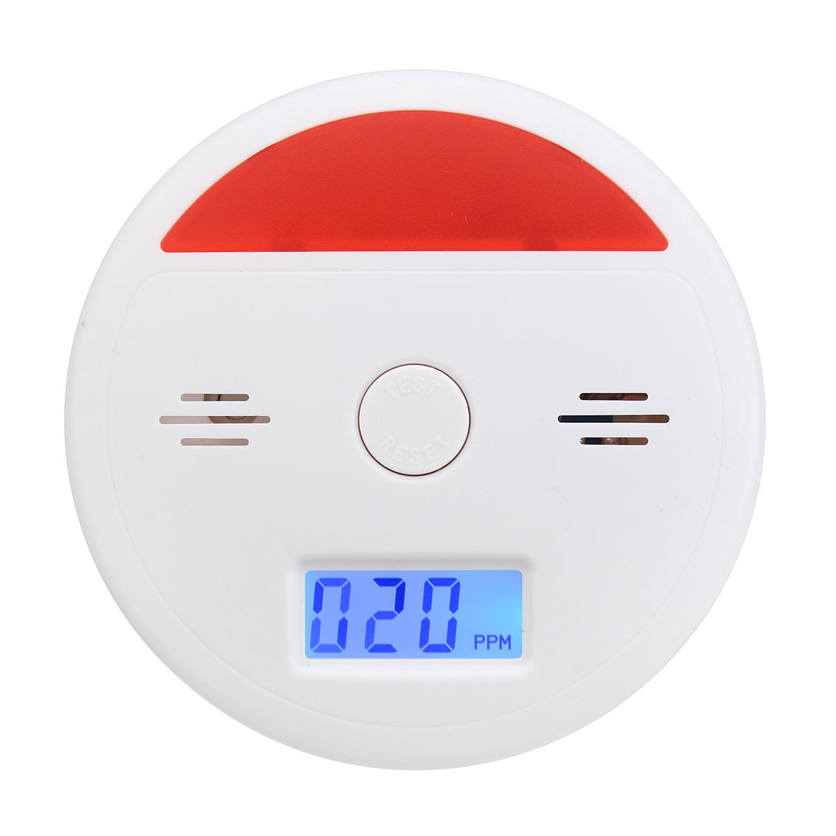 LCD CO Carbon Monoxide Tester Poisoning Gas Smoke Alarm Detector Monitor Warning Sensor