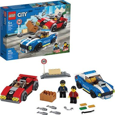 Lego 60242 City Police Highway Arrest