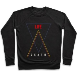 Life Vs Death Pullover from LookHUMAN