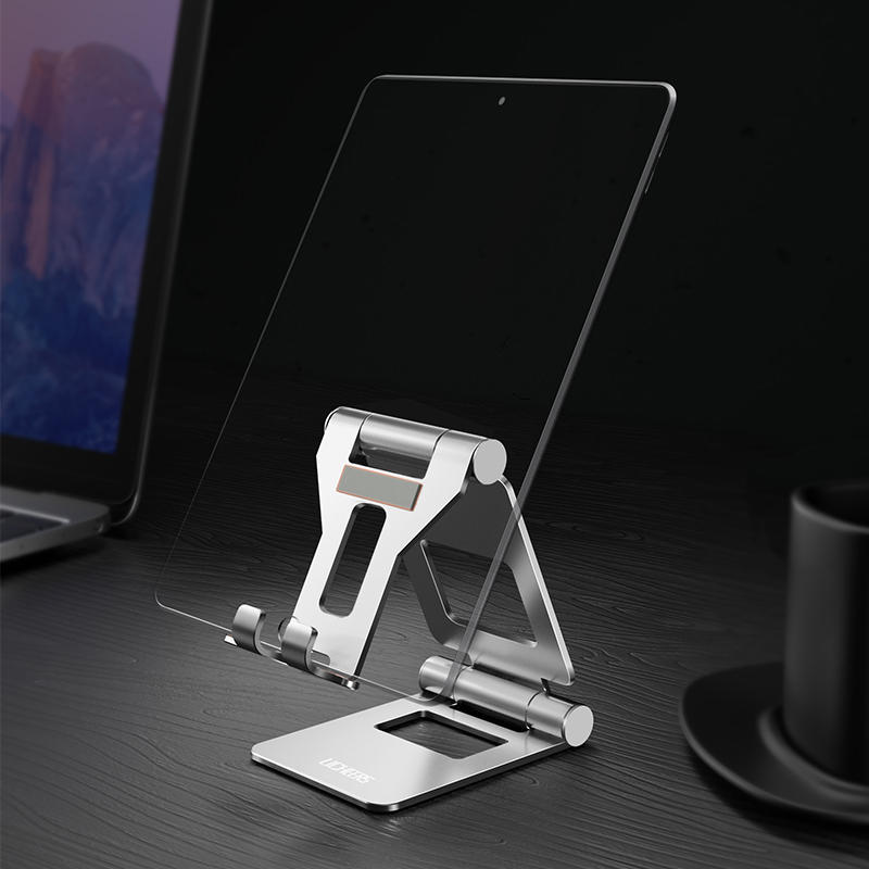 Lingchen Aluminum Alloy Foldable Rotatable Desktop Phone Holder Tablet Stand For Smart Phone Tablet PC iPhone Samsung iP