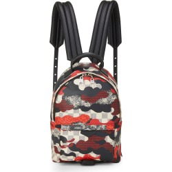 Louis Vuitton Damier Azur Patchwork Waves Palm Springs Backpack PM In Red
