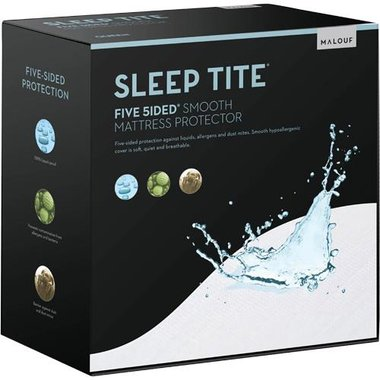 Malouf SL0PPF5P FULL-5 SIDE Mattress Protector - Full