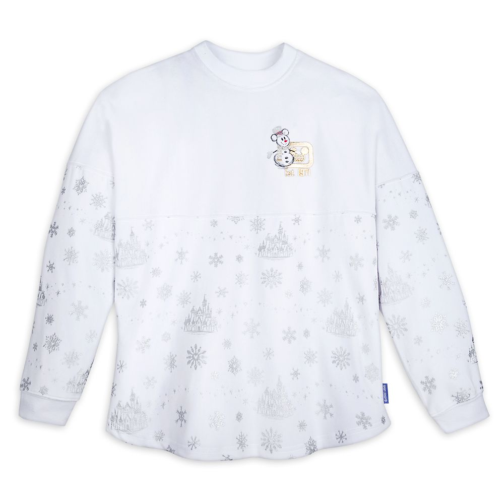 Mickey Mouse Silver and Gold Spirit Jersey for Adults Walt Disney World