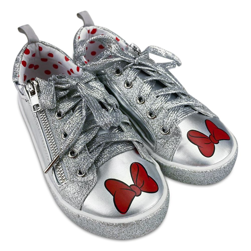 Minnie Mouse Grayscale Sneakers for Girls Official shopDisney
