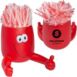 Mop Topper Eye Popping Phone Stand