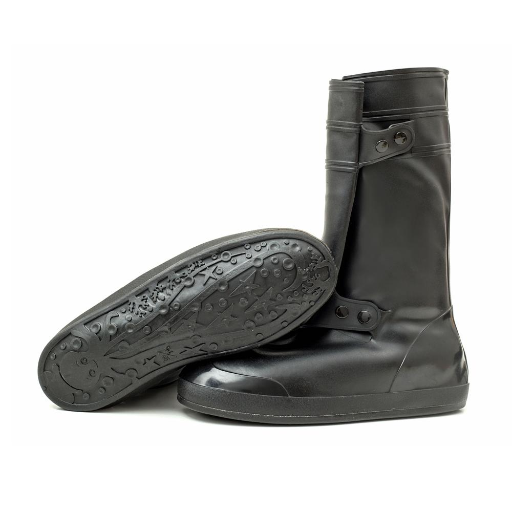 Motorcycle Waterproof Rain Shoe Covers One Piece Style Thicker Scootor Non-slip Boots Covers