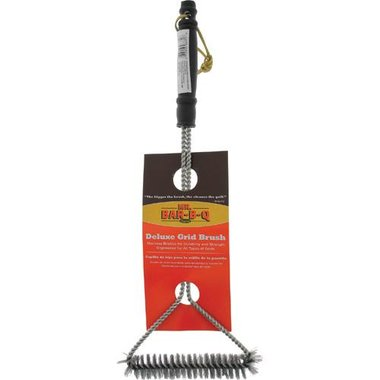 Mr. Bar-B-Q 06371SSX Long Handle Wide Triangle Grill Brush