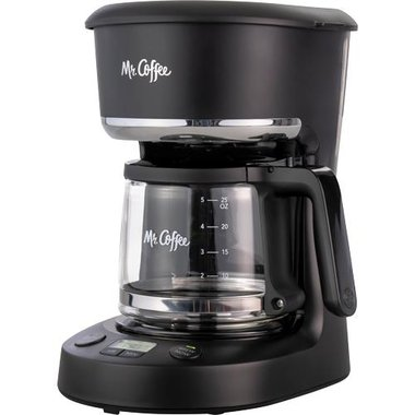 Mr. Coffee 2132049 5 Cup Auto-Off Programmable Coffeemaker