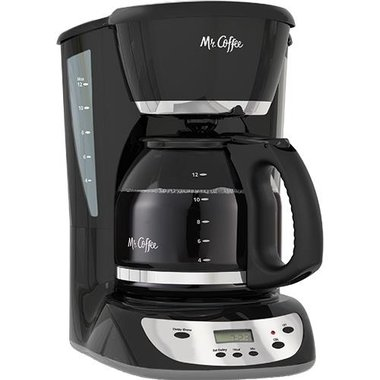 Mr. Coffee BVMCCHX231RB 12-Cup Auto-Off Programmable Coffee Maker