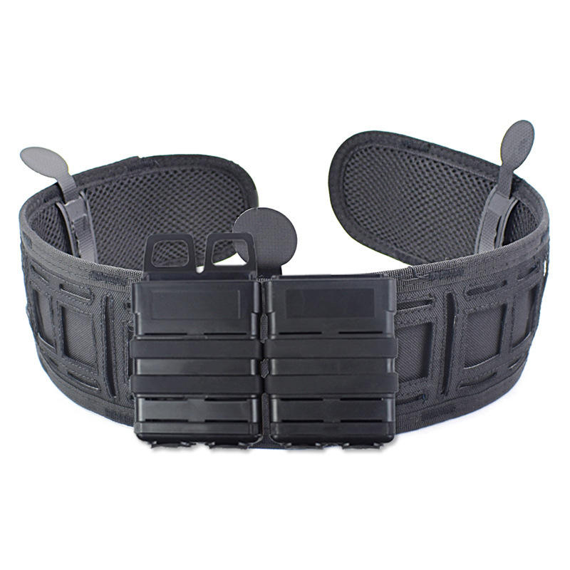 Multifunctional Molle Belt Nylon Tactical Bag With Steel Ball Unloader Waist Belt For Hunting