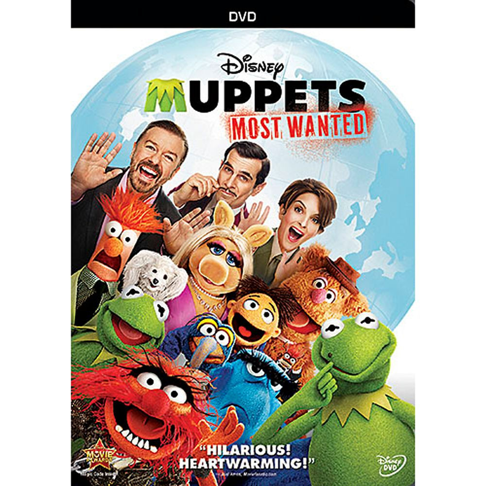 Muppets Most Wanted DVD Official shopDisney