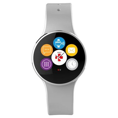 MyKronoz KRZECIRCLE2SI Activity Tracker With Color Touchscreen, Smart Notifications