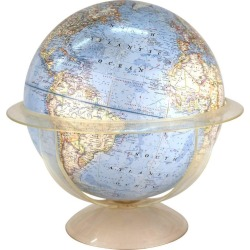 National Geographic Midcentury Globe On Stand
