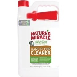 Nature's Miracle Hard Floor Cleaner Dual Action S&O Remover, 128-oz