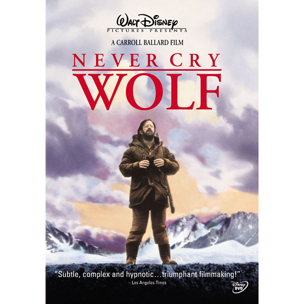 Never Cry Wolf DVD Official shopDisney