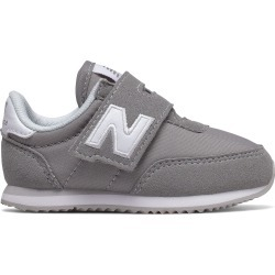 New Balance Infant 720 Hook and Loop Shoes Grey with White