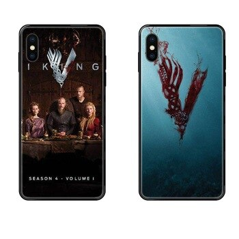 New Vikings Season 4 Poster For Xiaomi Mi Note A1 A2 A3 5 5s 6 8 9 10 SE Lite Pro Ultra Precio Black Soft TPU Capa Cover Case