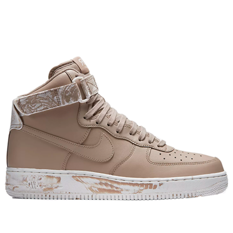 Nike Air Force 1 High 'Dip Dye' sand/summit white/sand Sneakers/Shoes at3293-200 (Size: US 8)