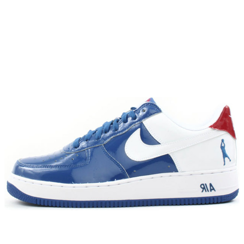 Nike Air Force 1 Sheed Low 'Blue Jay' Blue Jay/White-Varsity Red Sneakers/Shoes 306347-411 (Size: US 9)