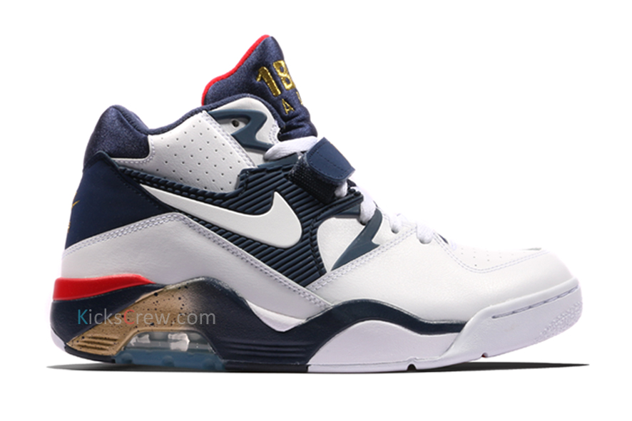 Nike Air Force 180 Olympic Pack 2016 Basketball Shoes/Sneakers 310095-100 (Size: US 8)