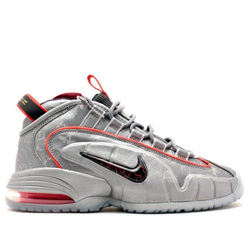 Nike Air Max Penny DB 'Doernbecher' Reflective Silver/Black-Chilling Red-Metallic Silver Basketball Shoes/Sneakers 728590-001 (Size: US 7)