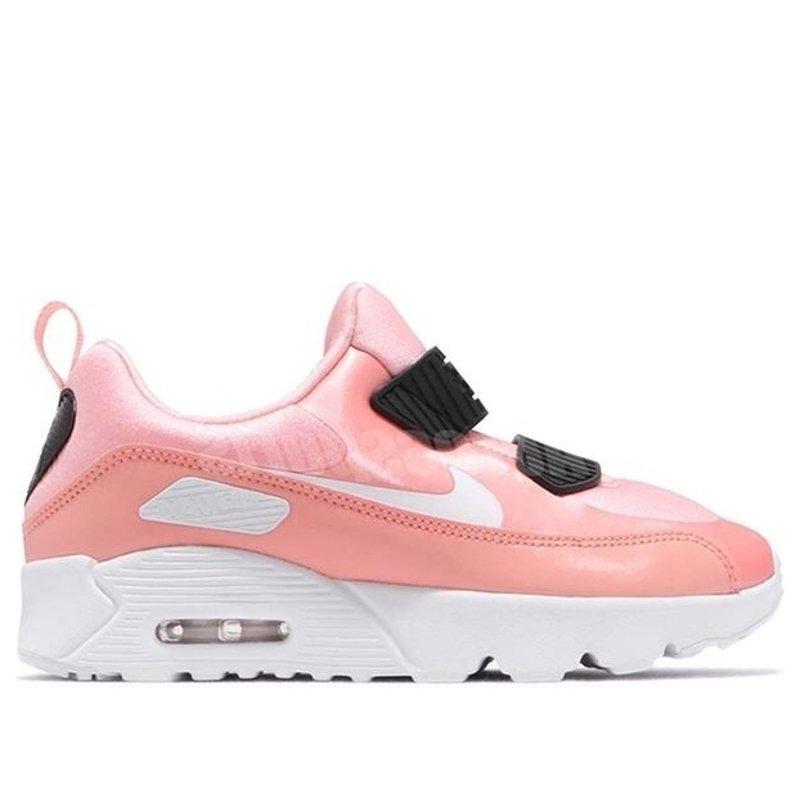 Nike Air Max Tiny 90 PS 'Valentine's Day' Bleached Coral/White-Black Marathon Running Shoes/Sneakers AV3194-600 (Size: US 12C)