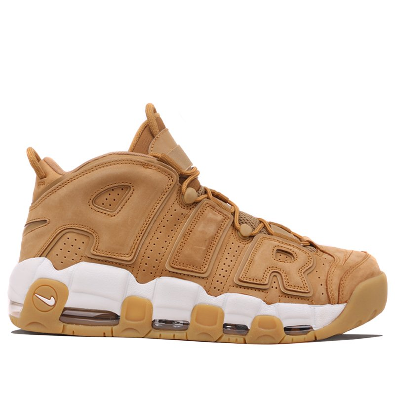 Nike Air More Uptempo Flax Basketball Shoes/Sneakers AA4060-200 (Size: US 12)