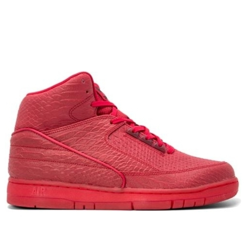 Nike Air Python 'Red October' Red/Black Basketball Shoes/Sneakers 705066-600 (Size: US 9)