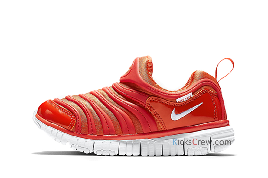 Nike Dynamo Free PS Red Marathon Running Shoes/Sneakers 343738-803 (Size: US 13C)