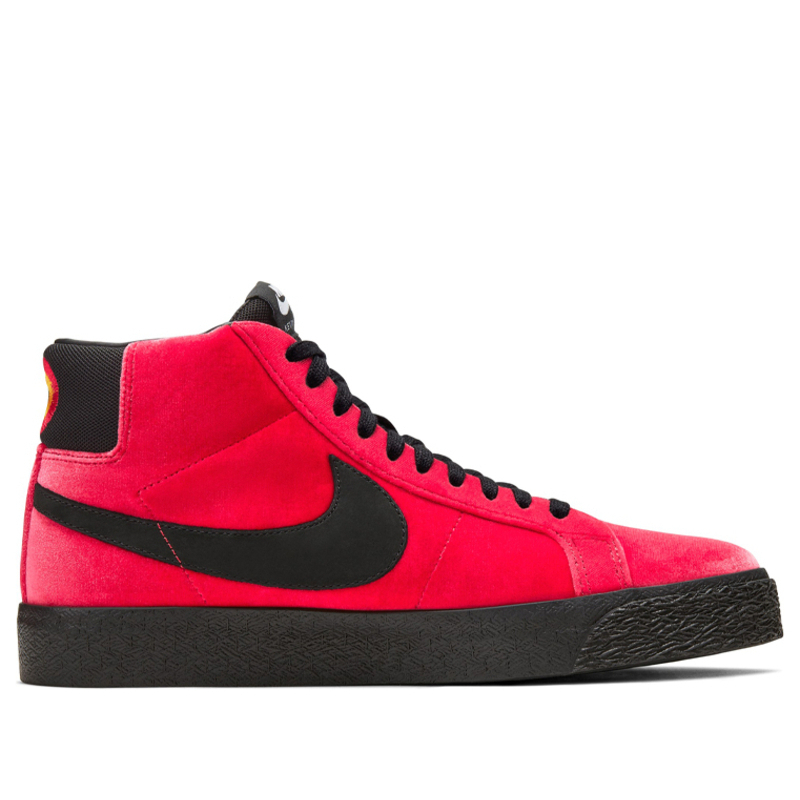 Nike Kevin Bradley x Zoom Blazer Mid ISO SB 'Hell' University Red/Black Sneakers/Shoes CD2569-600 (Size: US 9.5)