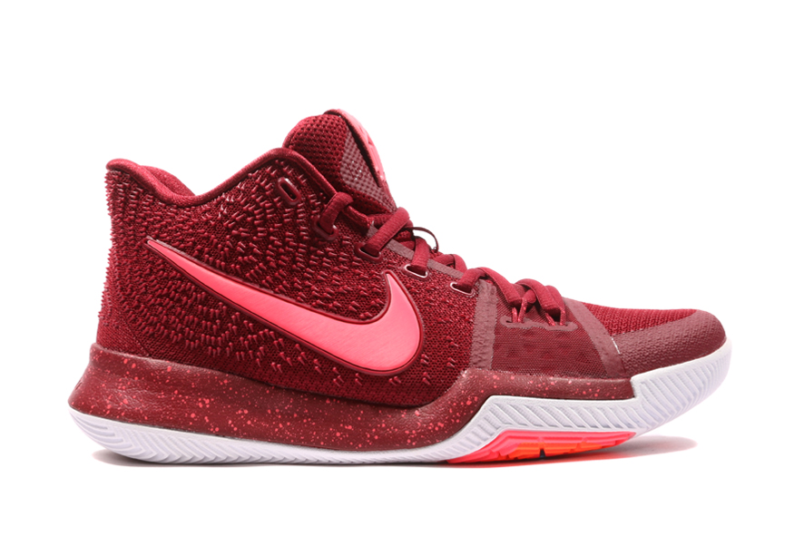 Nike Kyrie 3 EP Warning Basketball Shoes/Sneakers 852396-681 (Size: US 9)