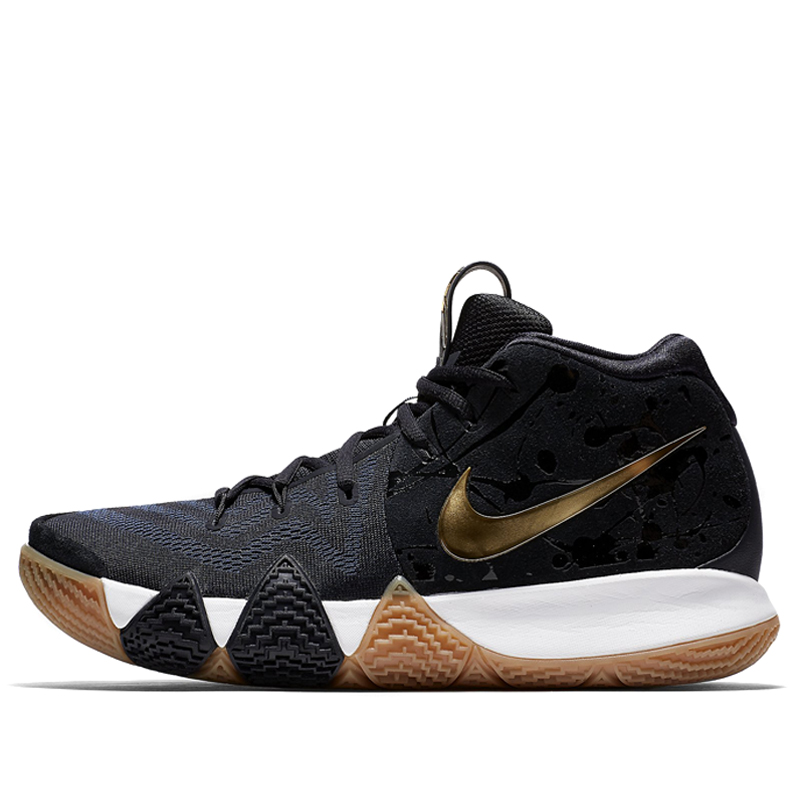 Nike Kyrie 4 EP Pitch Blue Metallic Gold Basketball Shoes/Sneakers 943807-403 (Size: US 11)