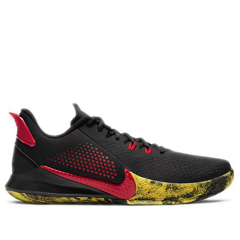 Nike Mamba Fury EP 'Bruce Lee' Black/University Red Basketball Shoes/Sneakers CK2088-002 (Size: US 10)