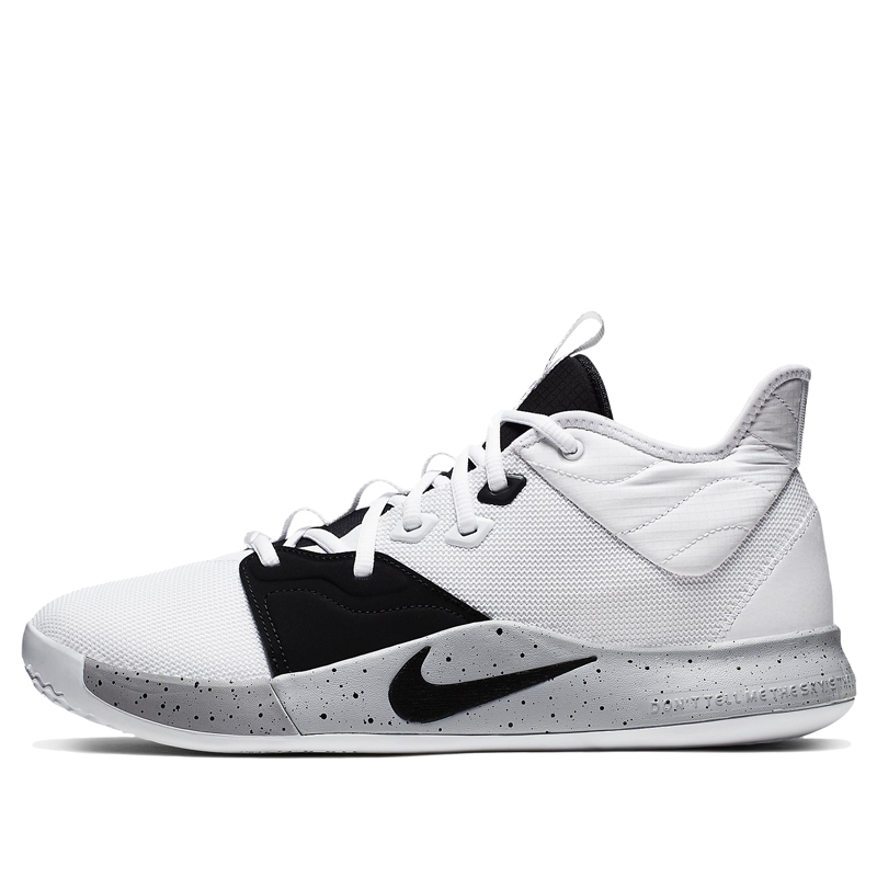 Nike PG 3 Moon Surface Basketball Shoes/Sneakers AO2607-101 (Size: US 13)