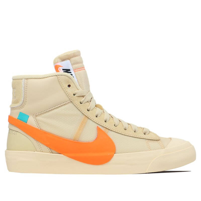 Nike The 10 Blazer Mid x OFF-White - All Hallows Eve Sneakers/Shoes AA3832-700 (Size: US 10)