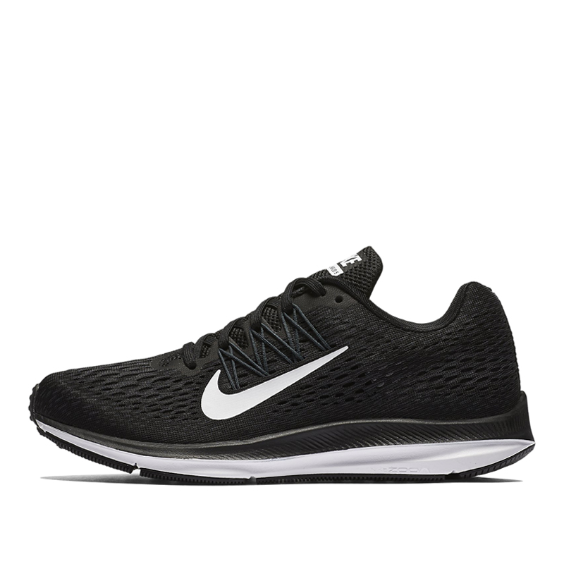 Nike Womens WMNS Zoom Winflo 5 Black Marathon Running Shoes/Sneakers AA7414-001 (Size: US 6)