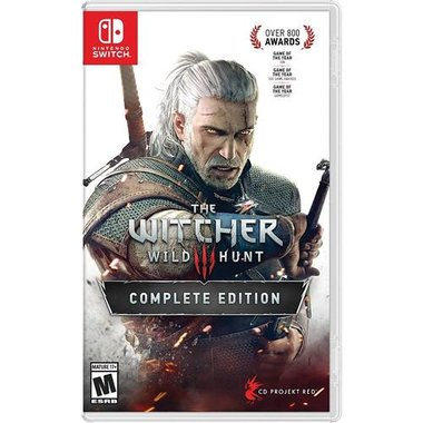 Nintendo Switch 883929690541 The Witcher 3: Wild Hunt Complete Edition