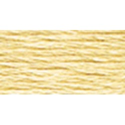Old Gold Very Light - DMC Six Strand Embroidery Cotton 100 Gram Cone