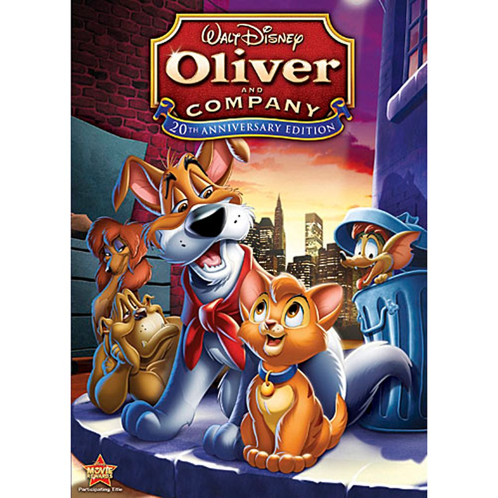 Oliver and Company DVD Official shopDisney