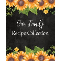 our family recipe collection large blank cookbook to write in a recipe keep
