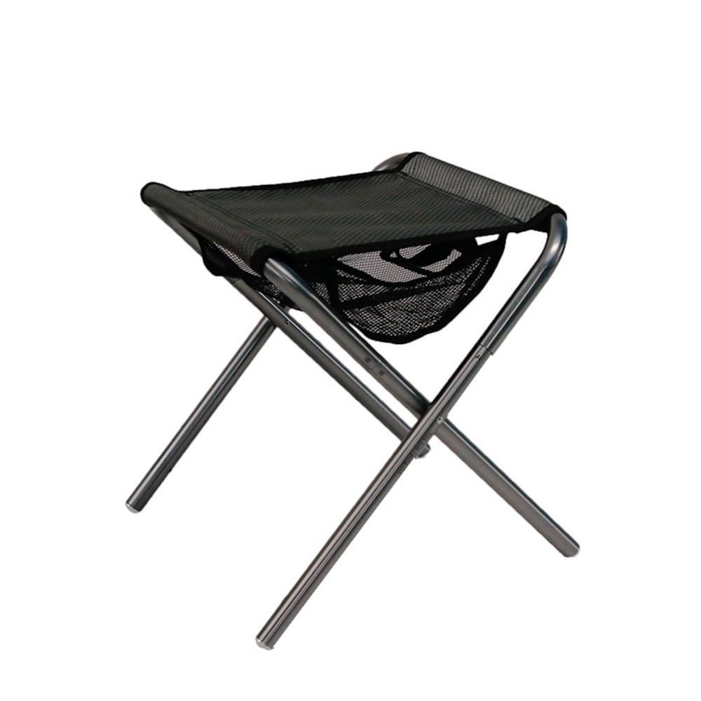 Outdoor Portable Folding Chair Aluminum Alloy Camping Picnic BBQ Beach Seat Stool Max Load 120kg