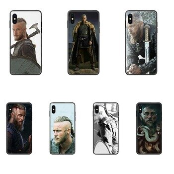 Pattern Pattern Phone Case Vikings Ragnar Vikings Season Lothbrok For Xiaomi Mi Note A1 A2 A3 5 5s 6 8 9 10 SE Lite Pro Ultra