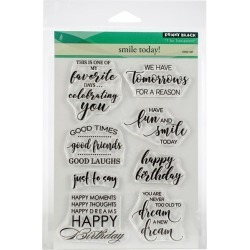 Penny Black Clear Stamps-Smile Today