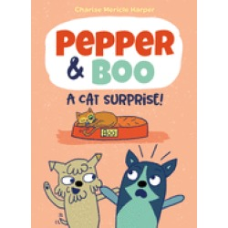 pepper and boo a cat surprise