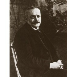 Photo: Alois Alzheimer Identified the Brain Pathology That Caused Dementia in 1906: 24x18in