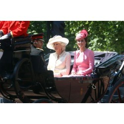 Photo: ?Prince Harry, Camilla, Duchess of Cornwall and Catherine, Duchess of Cambridge by Associated Newspapers: 36x24in